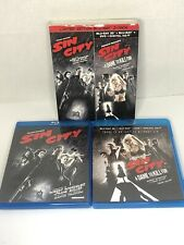 Sin City/Sin City: A Dame to Kill For (Blu-ray/Dvd/3D) Limited Edition Used