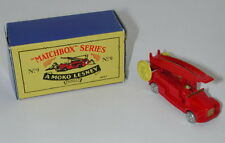 MATCHBOX 1988 SERIES NO. 9 MOKO LESNEY Fire Engine W/ BOX oc12994