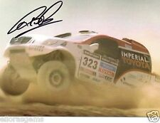 Rally Driver Alister McRae Hand Signed Promo Card - Ultra Rare