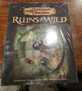 Dungeons and Dragons Ruins of the Wild Dungeon Tiles Still in Shrink