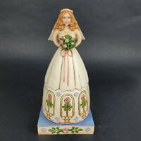 Jim Shore Heartwood Creek From This Day Forward Bride Figurine 4007235 Blue