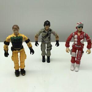 Lot 3 GI Joe Vintage 1986 - 87  Lightfoot / Mainframe  / Lifeline  Hasbro