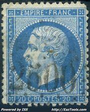 FRANCE EMPIRE N° 22 OBLITÉRATION GC 2500 MONTOIRE SUR LE LOIR LOIR ET CHER