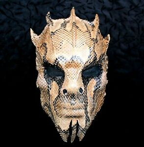 Wearable Leather Mask Steampunk Gothic Metal Bands Theatre  Handmade