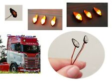 1:14 5er Set Begrenzungsleuchten Positionsleuchten Tamiya RC Trucks LKW Anhänger