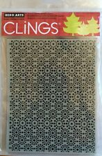 "Hero Arts Clings "" Snow Dots"" Rubber Stamp *New*"