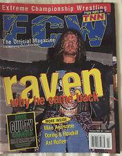 ECW Magazine Feb. 2000 Vol. 1 #5 Raven Why He Came Back WWE WWF