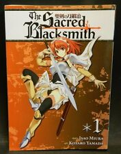 The Sacred Blacksmith Volume 1 by Isao Miura Manga (2013) Book Excellent