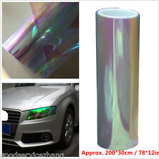 200cmx30cm Colorful Clear Car Headlight Tint Vinyl Wrap Film Sheet Cover Sticker