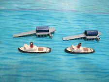 TRIANG MINIC TUG BOATS AND DOCKS FREE SHIPPING