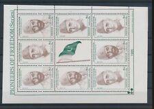 LM83371 Pakistan pioneers of freedom fp good sheet MNH