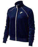Women's Nike Velour Track Jacket Blue Sz XL FAST SHIPPING