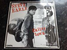 Steve Earle Guitar Town vinyl LP