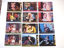 1998 STAR TREK THE ORIGINAL SERIES TOS SEASON 2 PROFILES INSERT 12 CARD LOT