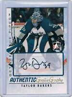 2007-08 ITG Between The Pipes Autographs #ATD Taylor Dakers NM-MT Auto