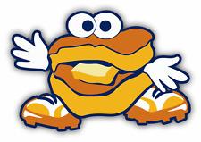 "Montgomery Biscuits MILB Minor Baseball MLB Car Bumper Sticker Decal 5"" x 3"""