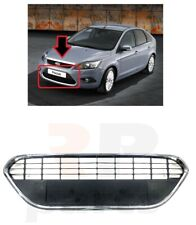 FOR FORD FOCUS MK2 08-11 NEW FACELIFT FRONT BUMPER LOWER GRILL CHROME TRIM