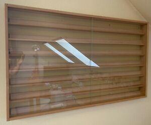 Kibri 12010 Vitrine Buche hell, mit Glastüren - NEUWERTIG