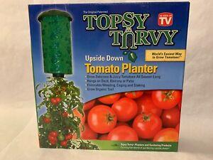 Topsy-Turvy Upside Down Tomato Planter As Seen On TV Organic All Season New
