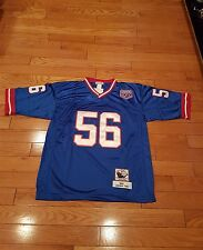 New York Giant Lawrence Taylor throwback  blue large #56  sticthed Jersey