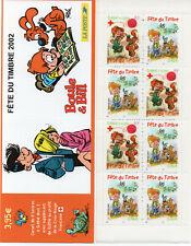 Timbres France Neuf** Carnet Fête du timbre 2002 N° BC3467a - Boule et Bill