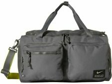 Nike Utility Power Training Duffle Bag Iron Grey Gym Fitness Ck2792-068 New Nwt