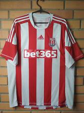 Stoke Home football shirt 2013 - 2014 size xl  jersey soccer Adidas