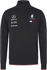 Mercedes AMG Petronas MAPM Mens Half Zip Knitted Jumper F1 Official Licensed
