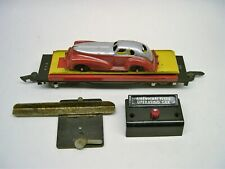 715 American Flyer Auto Unloading Car w/ Manoil Coupe [Lot Aa5-F8]