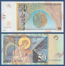MAZEDONIEN / MACEDONIA 50 Denari 2003  UNC  P.15 d
