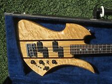 Circa 1980 BC Rich Mockingbird Longhorn Bass USA