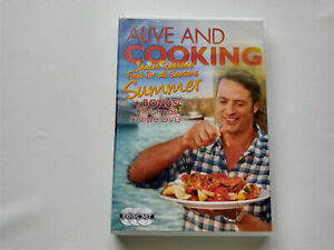 Alive And Cooking - SUMMER - James Reeson Region 4 DVD (3 discs) Australian