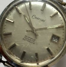 Vintage Working 25 Jewel AUTOMATIC Chateau Incabloc Date WRISTWATCH