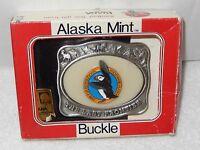 Kiana The Alaska Mint 1988 Fur Rendezvous The Last Frontier Belt Buckle