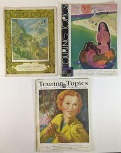 5 Touring Topics Magazine 1928 - 1933