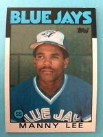 1986 Topps Toronto Blue Jays  Complete Team Set - Stieb/Alexander/Barfield/Iorg