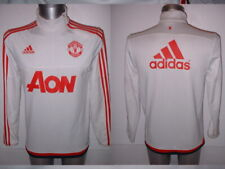 Manchester United Adidas Jacket Adult Small Football Soccer Shirt Training Top