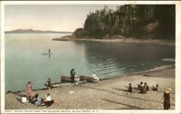 Bluff Point NY Bathing Beach c1910 Detroit Publishing Postcard
