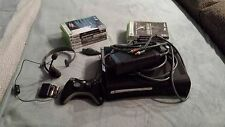 Microsoft Xbox 360 Elite 120 GB Matte Black Console with Headset and Games(NTSC)