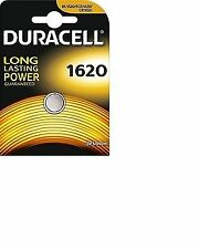 4 X Duracell Cr1620 3v Lithium Button Battery Coin Cell Dl1620 Fast