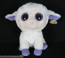 Ty Beanie BOOS BOO Clover the Lamb 2010 Tag Retired 6""