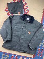 Vtg Carhartt Work Jacket Size 2XL Workwear Detroit