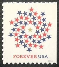 2016 Scott #5131 - Forever - PATRIOTIC SPIRAL  -  Booklet Single Mint NH Stamp
