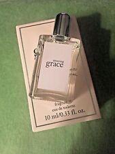 Philosophy Amazing Grace Eau De Toilette -0.33oz (10ml) splash/ BRAND NEW IN BOX