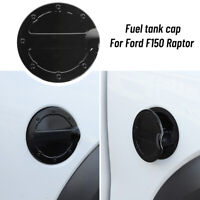 Car Door Gas Cover Fuel Tank Cover Decoration For Ford F150 Raptor 2009-14 Black
