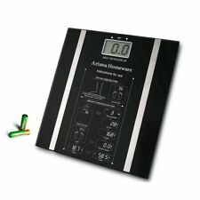 DIGITAL BODY FAT ANALYSER SCALES BMI HEALTHY 180KG WEIGHING SCALE WEIGHT LOSS