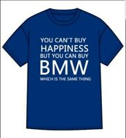 BMW Funny Comedy Parody T shirt Car Owner M Sport Gift Blue Mens Large