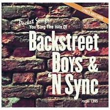 Backstreet Boys : Karaoke: Backstreet Boys & N Sync Pop 1 Disc Cd