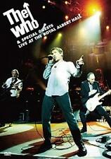 THE WHO AND SPECIAL GUESTS - LIVE AT THE ROYAL ALBERT HALL (DVD)