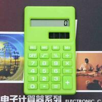 Mini Calculator 8 Digits Display Power Supply Double Candy Supplies G7W7